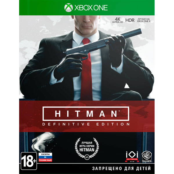 Видеоигра для Xbox One . Hitman:Definitive Edition sleeping dogs definitive edition xbox one