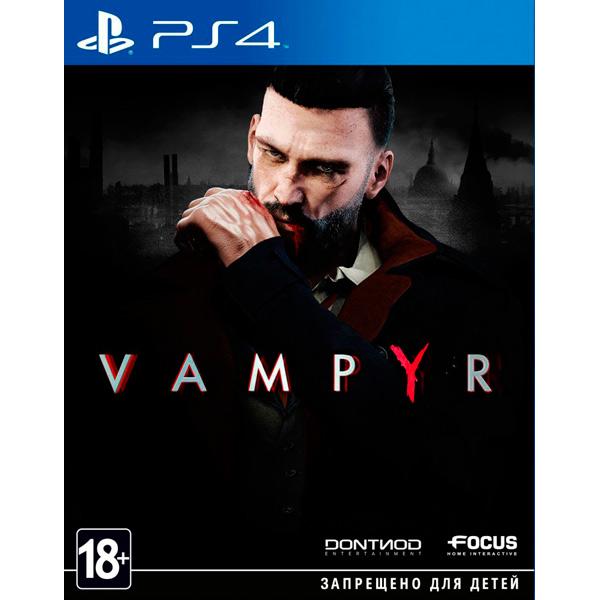 Видеоигра для PS4 . Vampyr