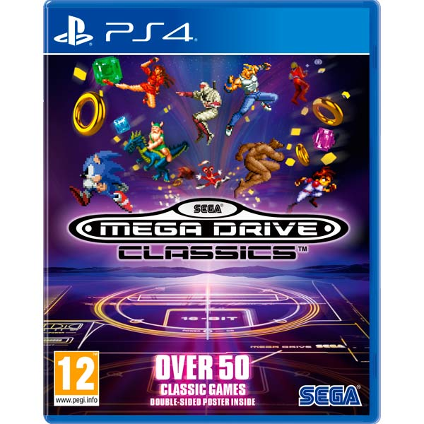 Видеоигра для PS4 . SEGA Mega Drive Classics cd сборник christmas classics