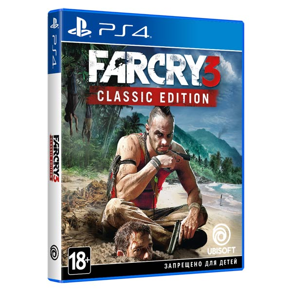 PS4 игра Ubisoft Far Cry 3 Classic Edition