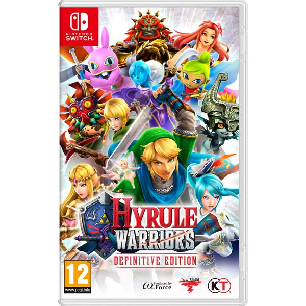 Видеоигра для Nintendo Switch . Hyrule Warriors Definitive Edition abc warriors meknificent seven