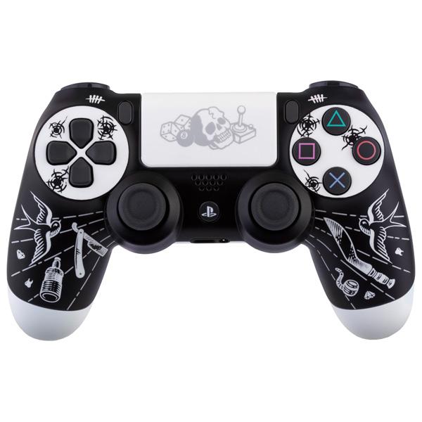 """Аксессуар для игровой консоли PlayStation 4 беспроводной геймпад DualShock 4 """"Disgusting Men"""""""