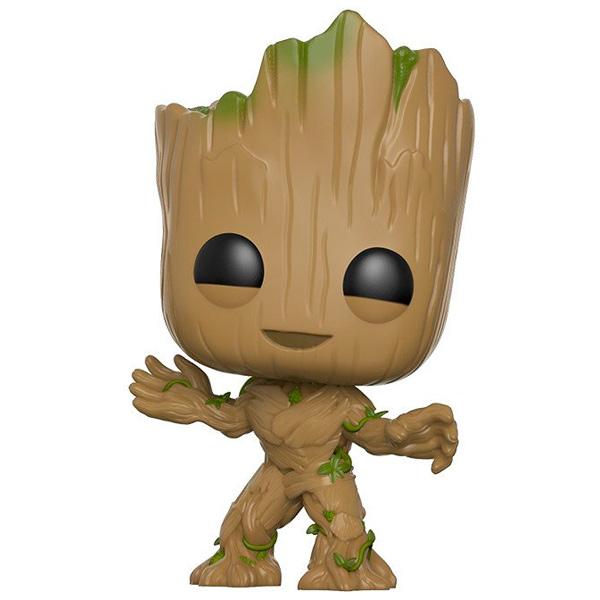 Фигурка Funko POP! Bobble: Guardians O/T Galaxy 2: Groot фигурка funko pop bobble marvel black panther nakia