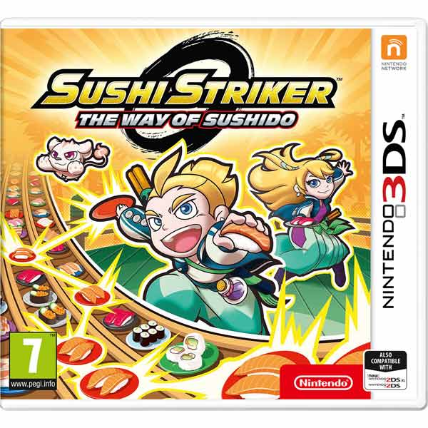 3DS игра Nintendo Sushi Striker: The Way of Sushido