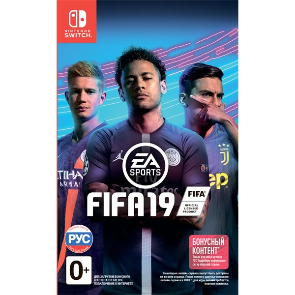 Nintendo Switch игра EA FIFA 19