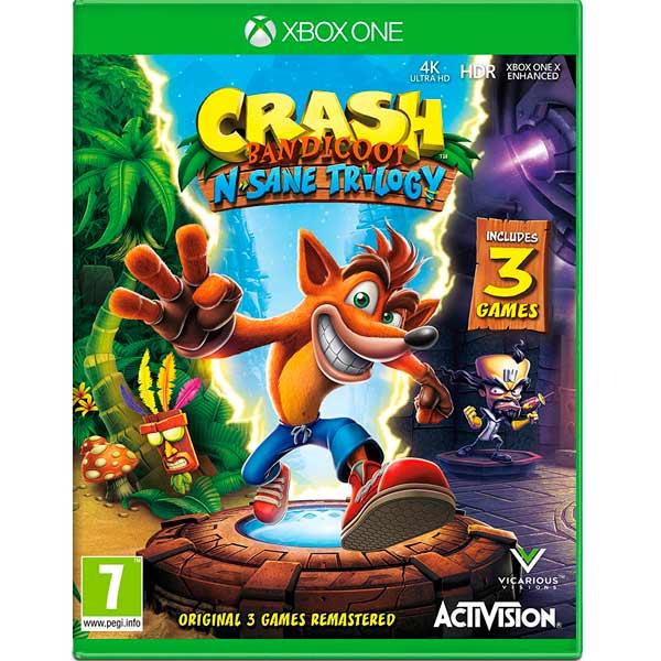 Видеоигра для Xbox One . Crash Bandicoot N?sane Trilogy ремень bandicoot
