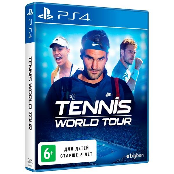 Видеоигра для PS4 . Tennis World Tour tennis world tour [ps4]