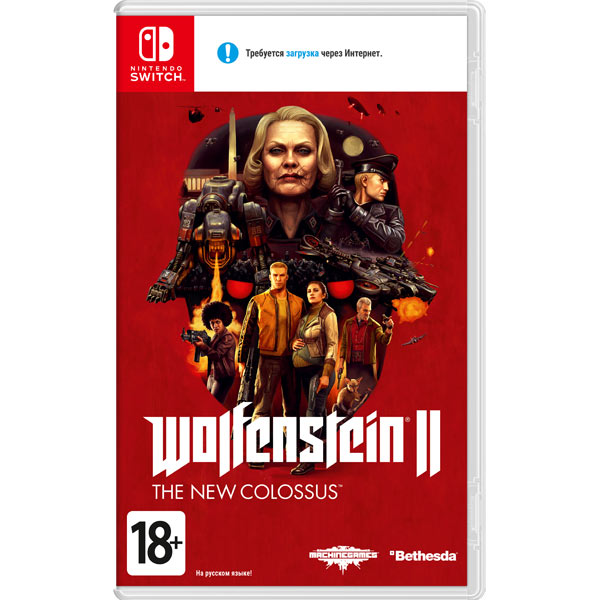 Видеоигра для Nintendo Switch . Wolfenstein II - The New Colossus