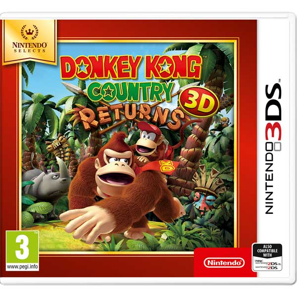 цена Видеоигра для Nintendo 3DS . Donkey Kong Country Returns 3D N