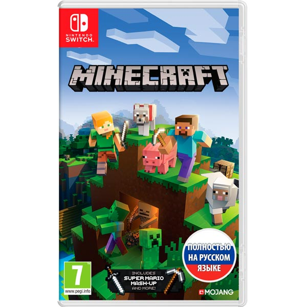 Видеоигра для Nintendo Switch Nintendo Minecraft