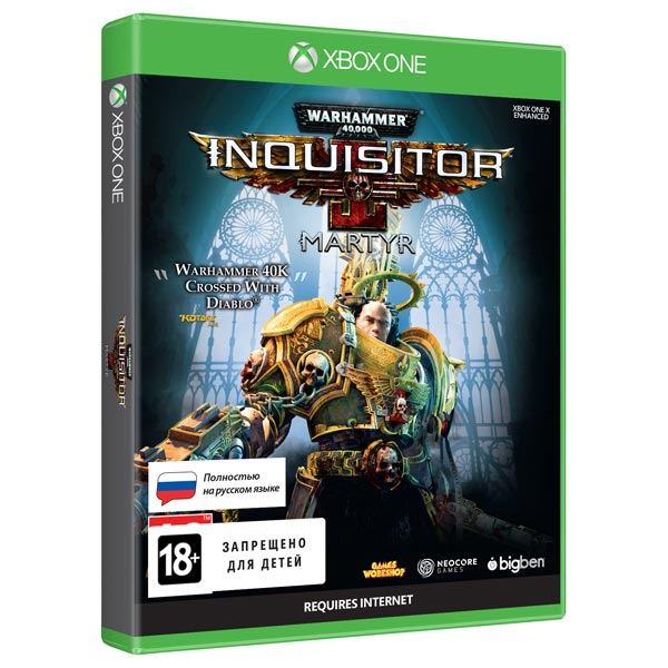 Xbox One игра Bigben Warhammer 40,000: Inquisitor - Martyr Standard Ed