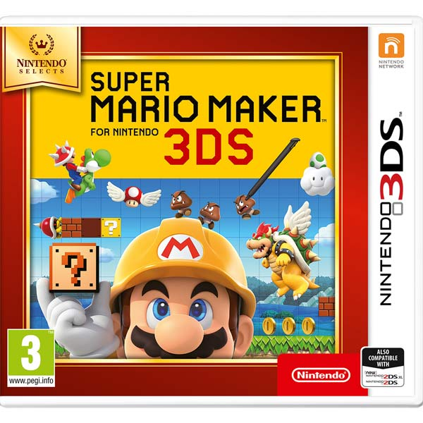 Видеоигра для Nintendo 3DS . Super Mario Maker N. Selects