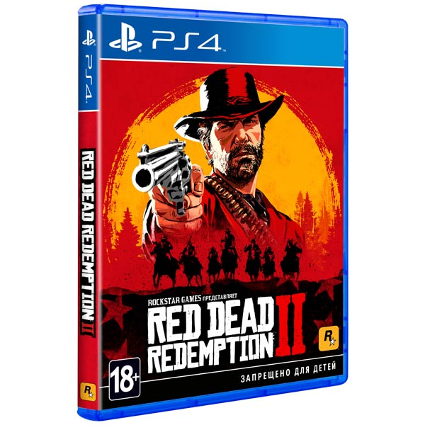 PS4 игра Take-Two Red Dead Redemption 2 фото