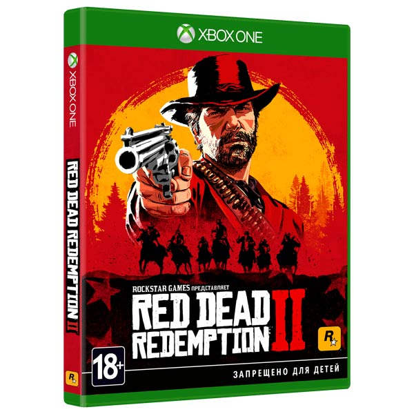 Xbox One игра Take-Two Red Dead Redemption 2 фото