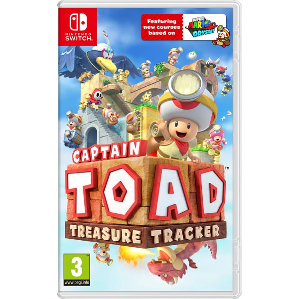 Игра для Nintendo Captain Toad: Treasure Tracker