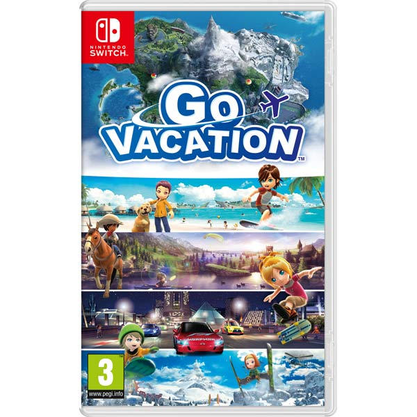Switch игра Nintendo Go Vacation Switch игра Nintendo Go Vacation