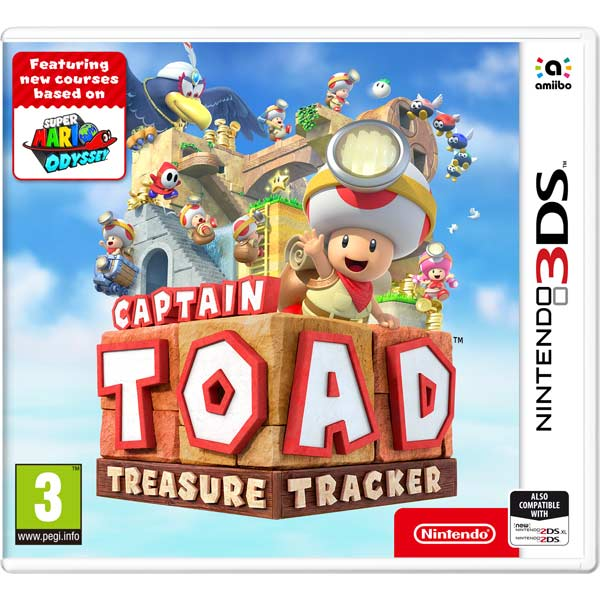 Видеоигра для Nintendo 3DS Nintendo Captain Toad: Treasure Tracker
