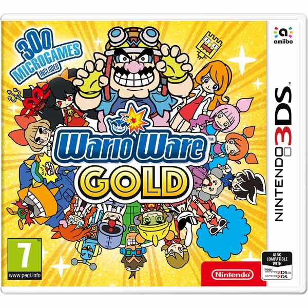 3DS игра Nintendo — WarioWare Gold