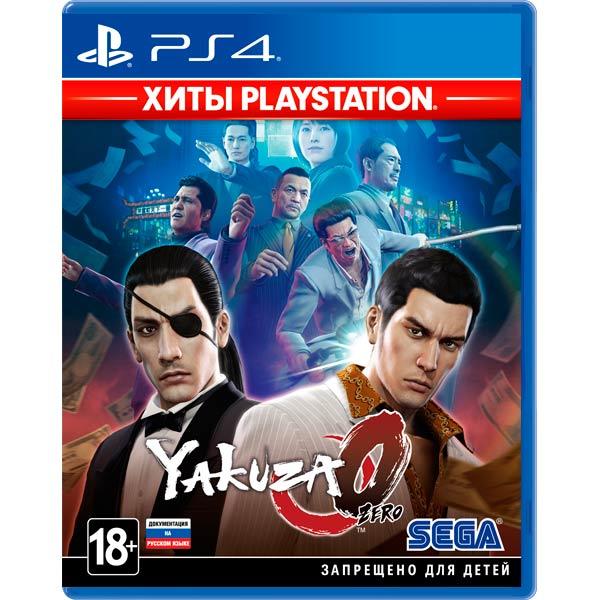 PS4 игра Sega — Yakuza Zero. Хиты PlayStation