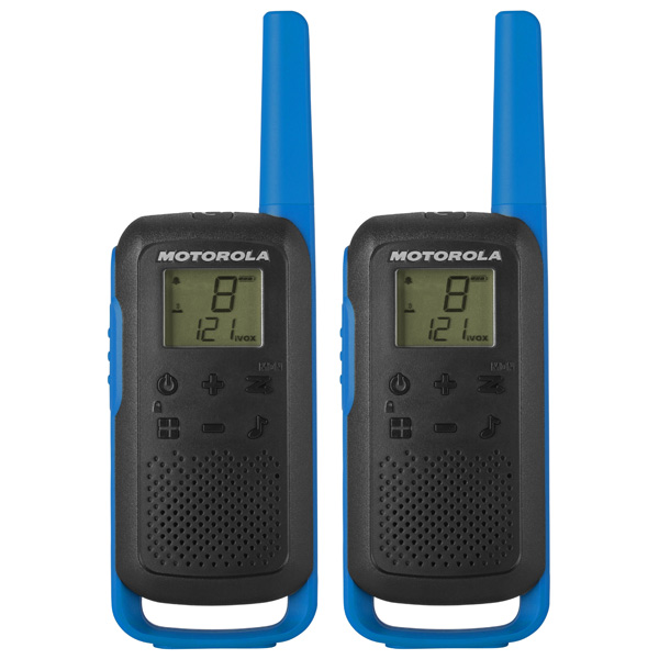 Рация Motorola Talkabout T62 Blue/Black (2 штуки)
