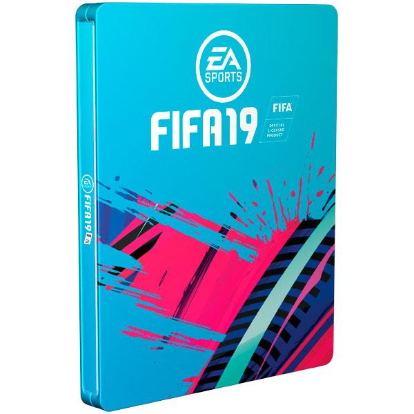 PS4 игра EA FIFA 19 Limited Steelbook Edition фото