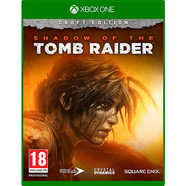 Xbox One игра Square Enix Shadow of the Tomb Raider. Издание Croft фото