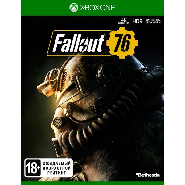 Xbox One игра Bethesda Fallout 76