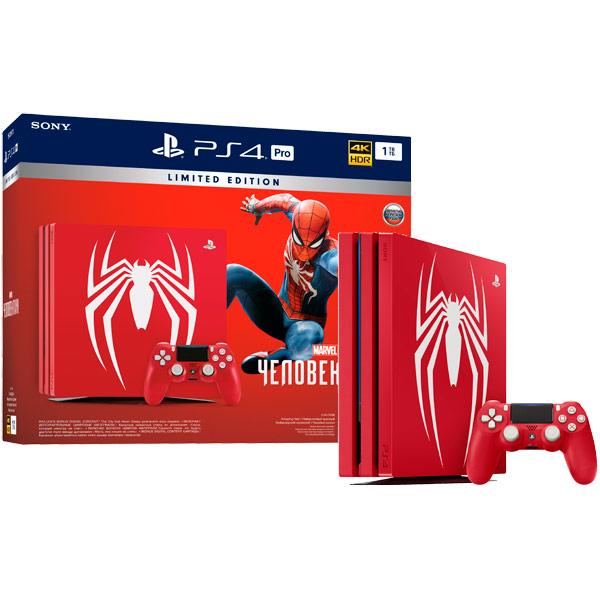 Купить Игровая консоль PS4 PlayStation 4 Pro 1TB + Spider-Man Limited Edition в каталоге интернет магазина М.Видео по выгодной цене с доставкой, отзывы, фотографии - Смоленск