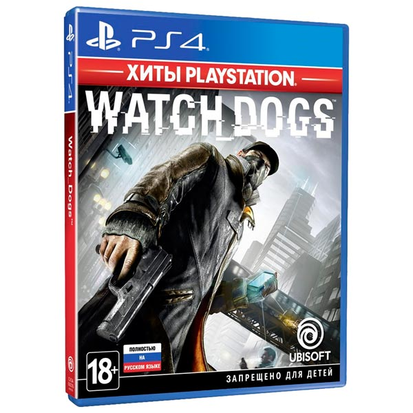 PS4 игра Ubisoft Watch_Dogs. Хиты PlayStation