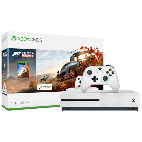 Игровая консоль Xbox One Microsoft — S 1TB + Forza Horizon 4