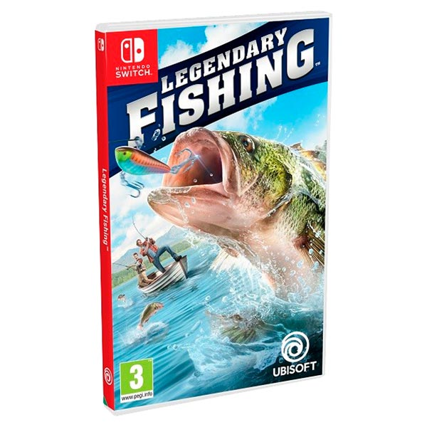 Nintendo Switch игра Ubisoft Legendary Fishing