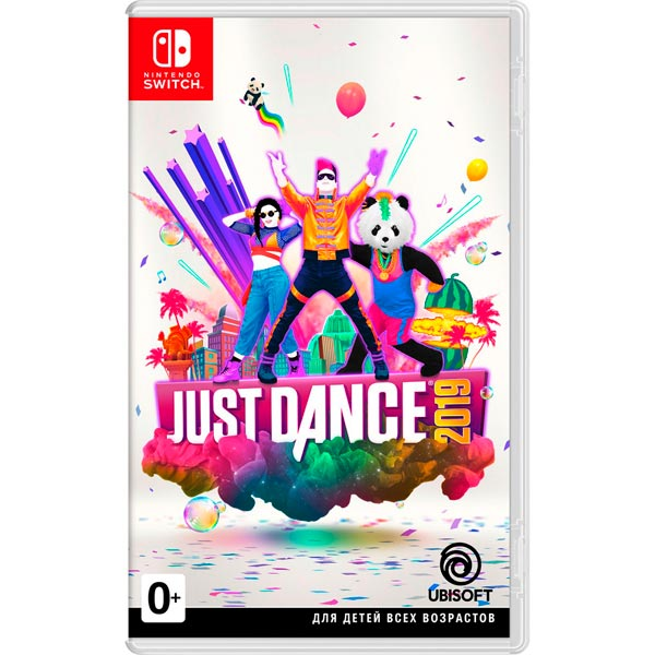 Nintendo Switch игра Ubisoft Just Dance 2019