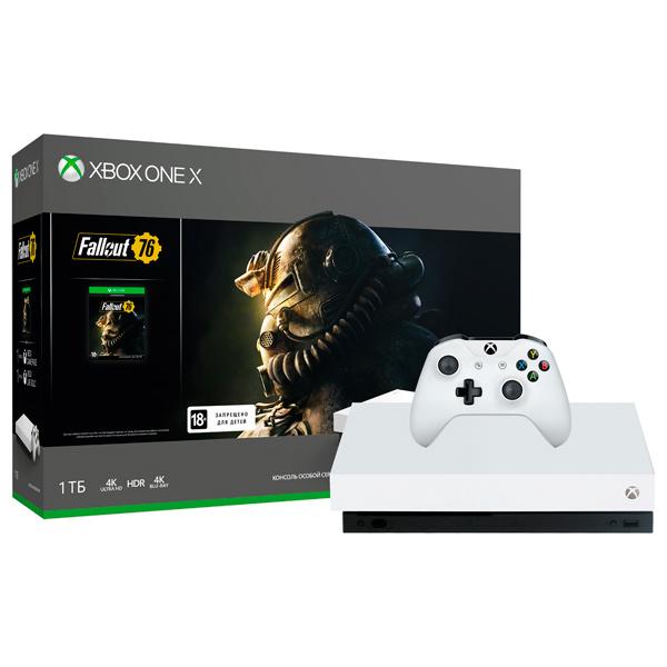 Игровая консоль Xbox One Microsoft — X 1TB + Fallout 76