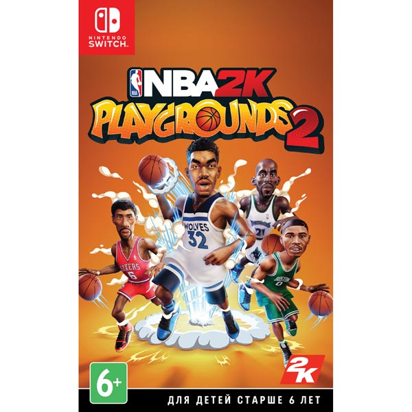 Nintendo Switch игра Nintendo NBA Playgrounds 2 Take Two Nintendo Switch игра Nintendo NBA Playgrounds 2