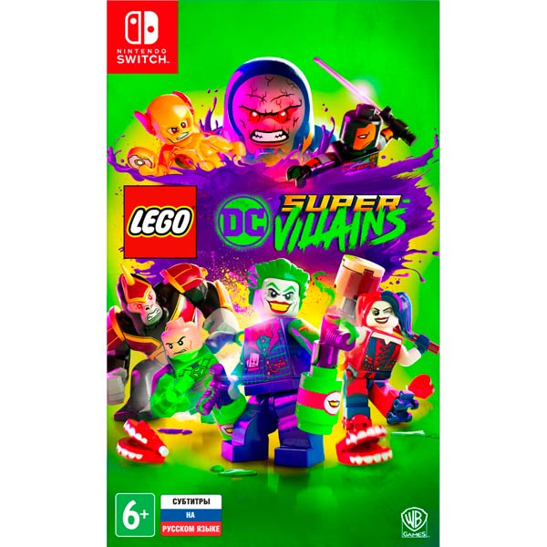 Nintendo Switch игра WB LEGO DC Super-Villains