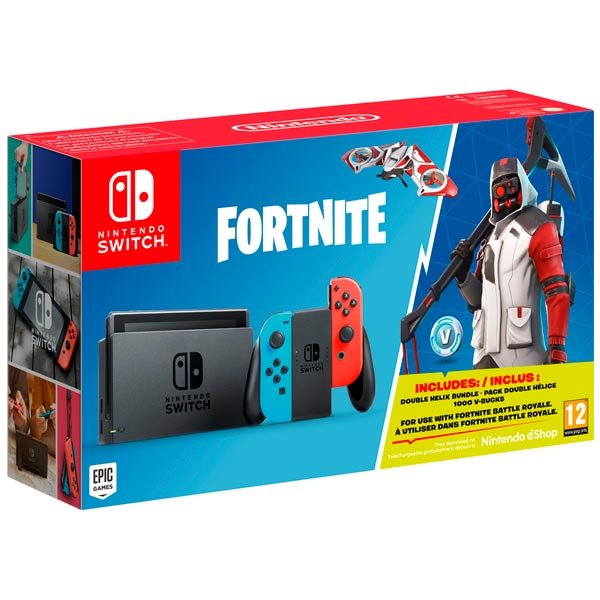 Игровая приставка Nintendo Nintendo Switch RB + Fortnite