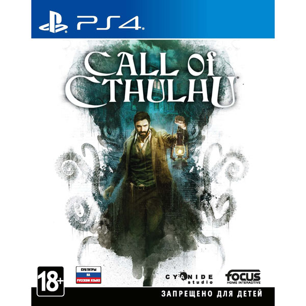 PS4 игра Activision Call of Cthulhu фото