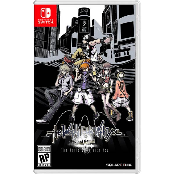 Switch игра Nintendo The World Ends with You Switch игра Nintendo The World Ends with You