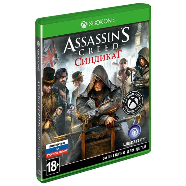 Xbox One игра Ubisoft XB1 ASSASSIN\'S CREED SYNDICATE GR HITS 1