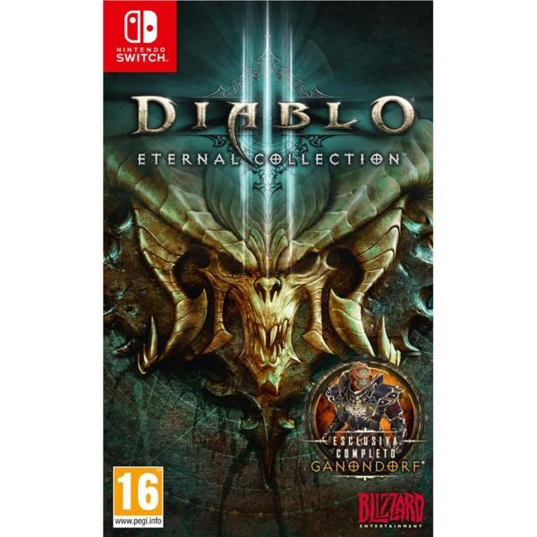 Игра Nintendo Switch Diablo III: Eternal Collection Blizzard