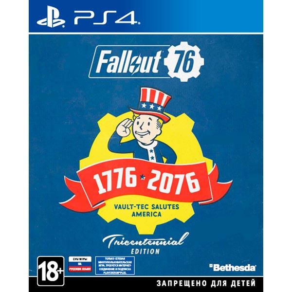 PS4 игра Bethesda Fallout 76. Tricentennial Edition