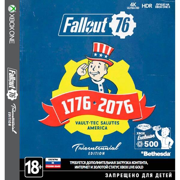 Xbox One игра Bethesda Fallout 76. Tricentennial Edition