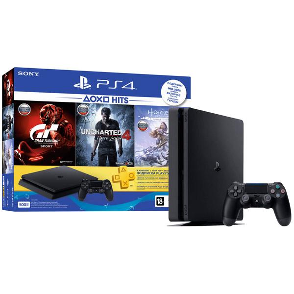 Игровая приставка PS4 Playstation 4 500GB