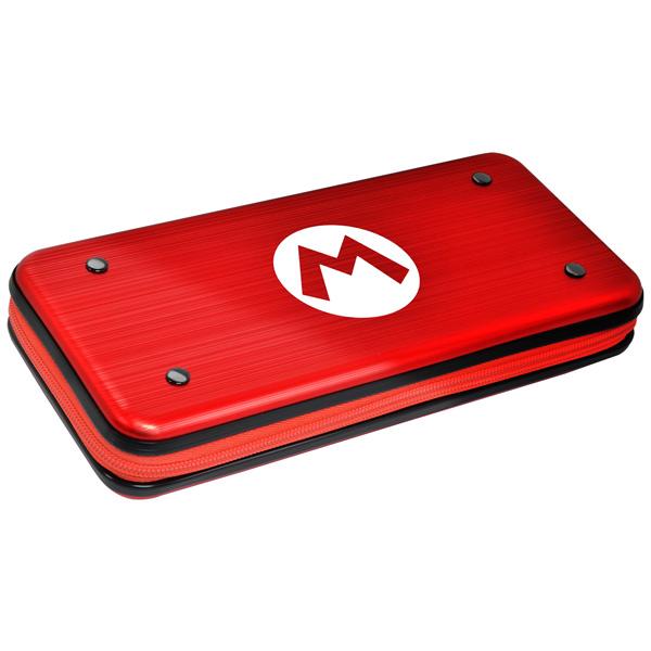 Аксессуар для игровой приставки Hori — Защитный алюминиевый чехол Mario