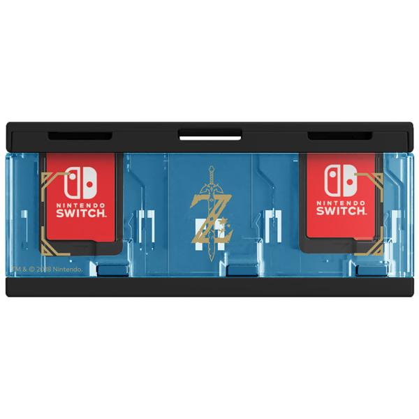 Аксессуар для игровой приставки Hori — Кейс Zelda для хранения 6 игровых картриджей