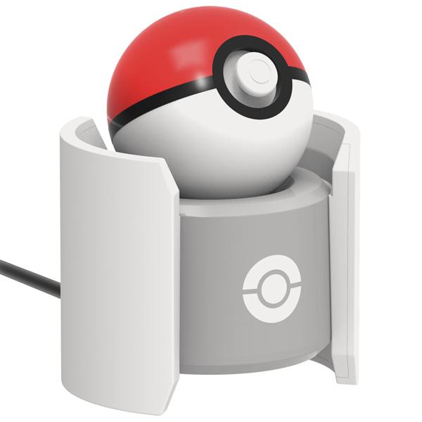 Аксессуар для игровой приставки Hori Стенд зарядки Pokeball Plus