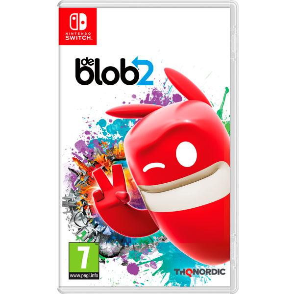 Игра Nintendo Switch De Blob 2 THQ Nordic — Игра Nintendo Switch De Blob 2