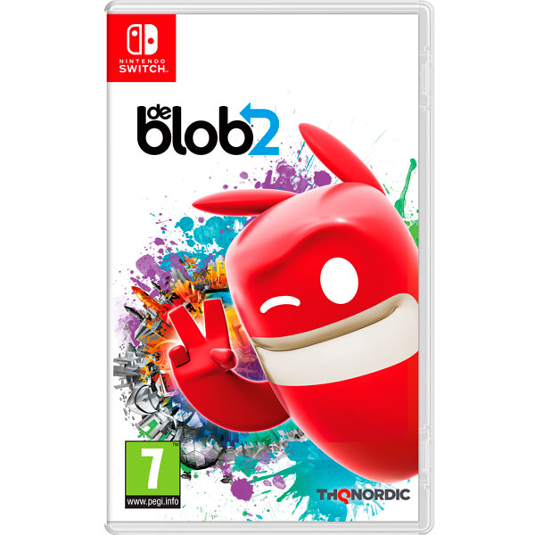 Nintendo Switch игра Nintendo De Blob 2 THQ Nordic Nintendo Switch игра Nintendo De Blob 2