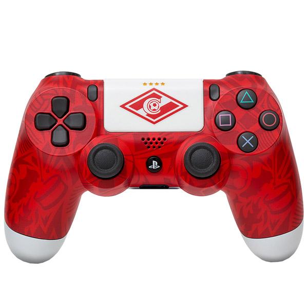 """Геймпад для консоли PS4 PlayStation 4 Rainbo — DualShock 4 """"Спартак. Легендарный стиль"""""""