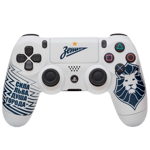 """Геймпад для консоли PS4 PlayStation 4 Rainbo — DualShock 4 """"Зенит. Сила Льва"""""""